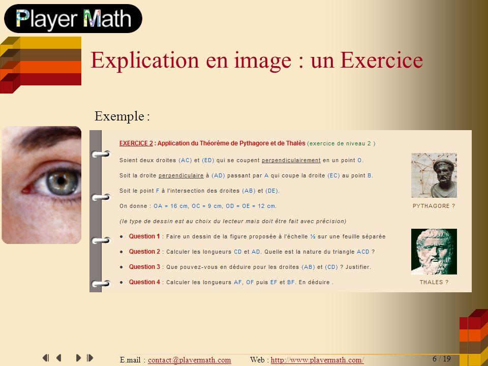 Explication en image : un Exercice