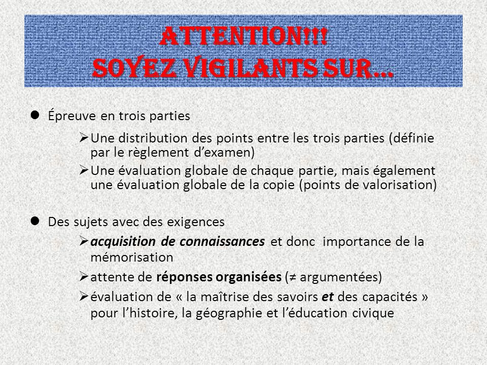 ATTENTION!!! Soyez vigilants sur…