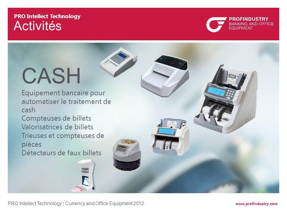 CASH Equipement bancaire pour automatiser le traitement de cash