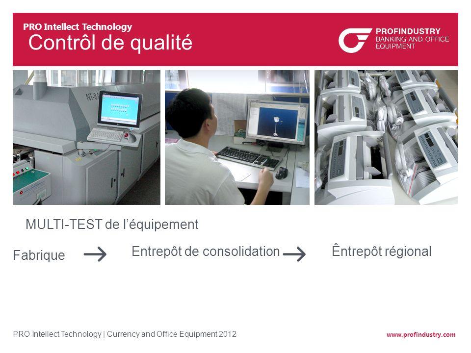 Contrôl de qualité MULTI-TEST de l'équipement