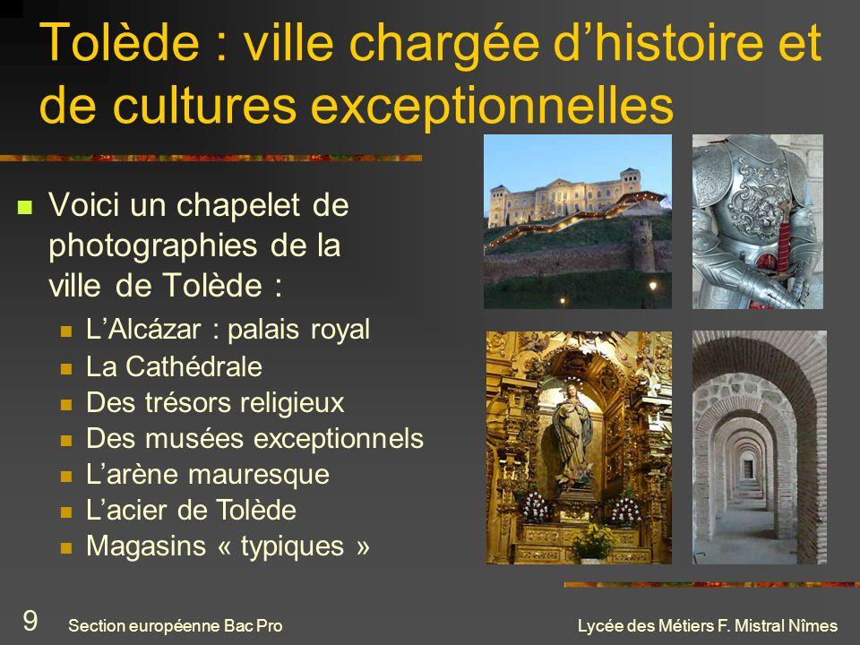 Tolède : ville chargée d'histoire et de cultures exceptionnelles