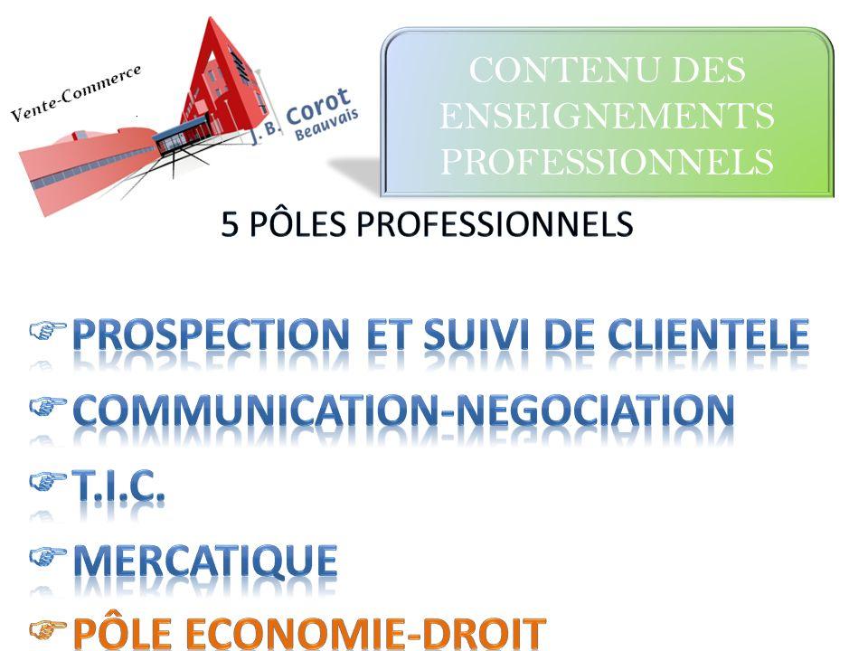 PROSPECTION ET SUIVI DE CLIENTELE COMMUNICATION-NEGOCIATION T.I.C.