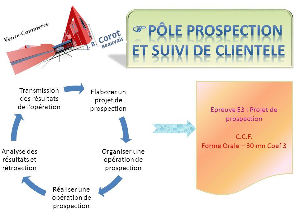Pôle PROSPECTION ET SUIVI DE CLIENTELE