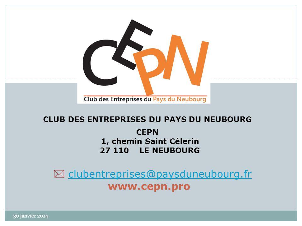 CLUB DES ENTREPRISES DU PAYS DU NEUBOURG