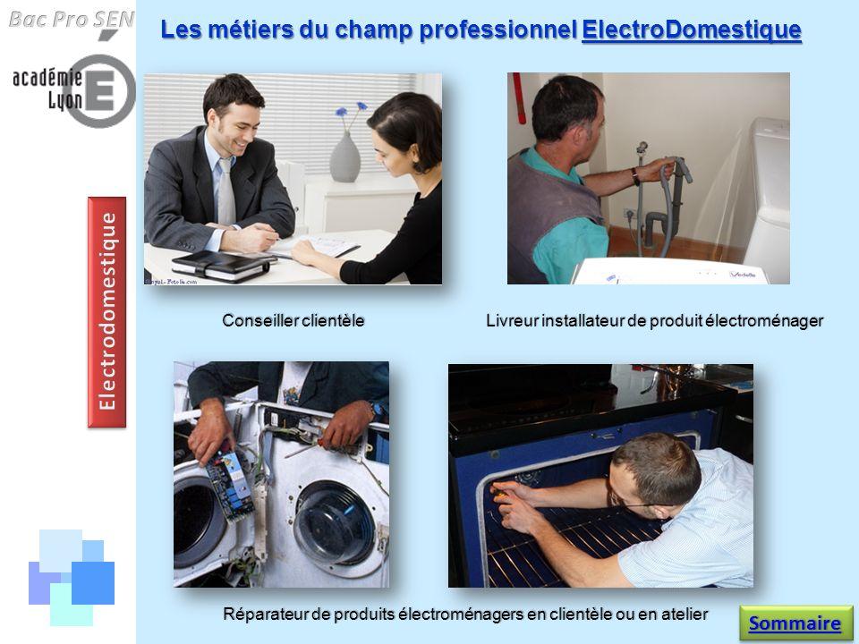 Bac Pro SEN Electrodomestique