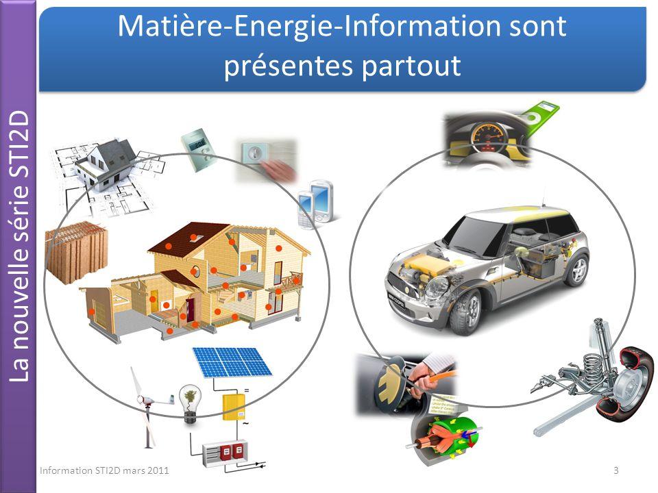 Matière-Energie-Information sont présentes partout