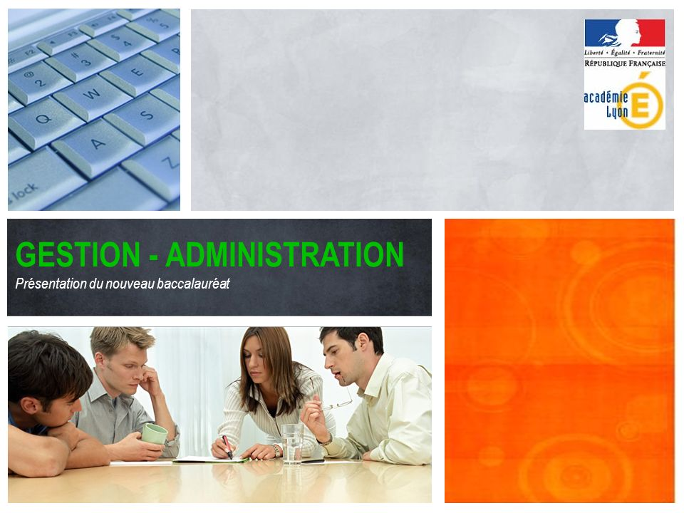 GESTION - ADMINISTRATION