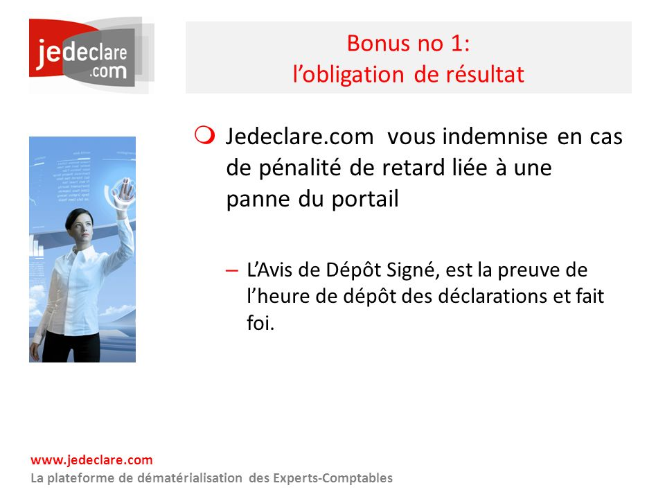 Bonus no 1: l'obligation de résultat
