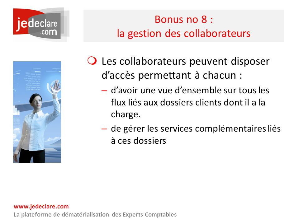 Bonus no 8 : la gestion des collaborateurs