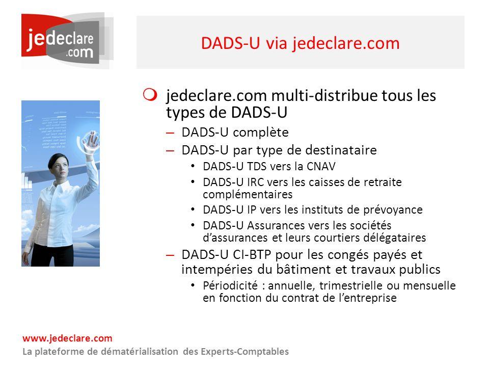 DADS-U via jedeclare.com
