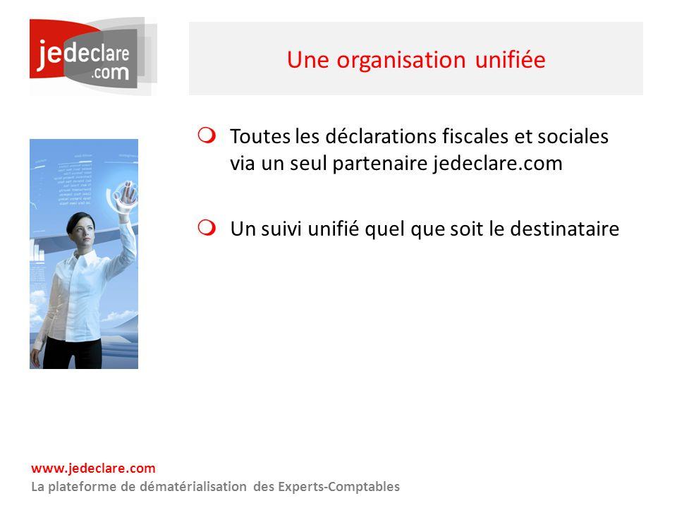 Une organisation unifiée