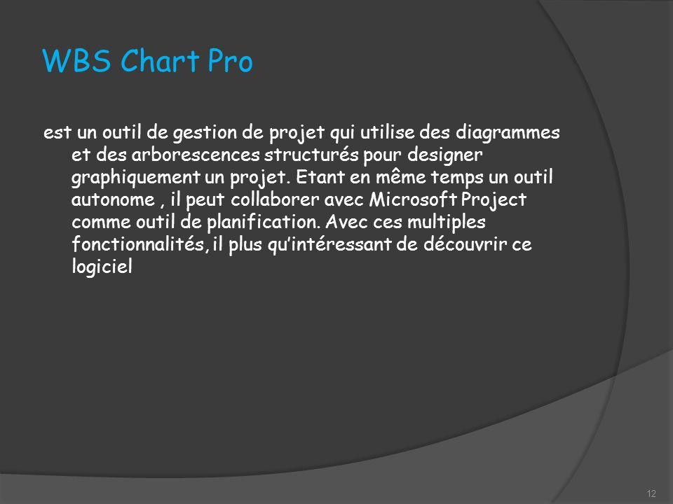 WBS Chart Pro