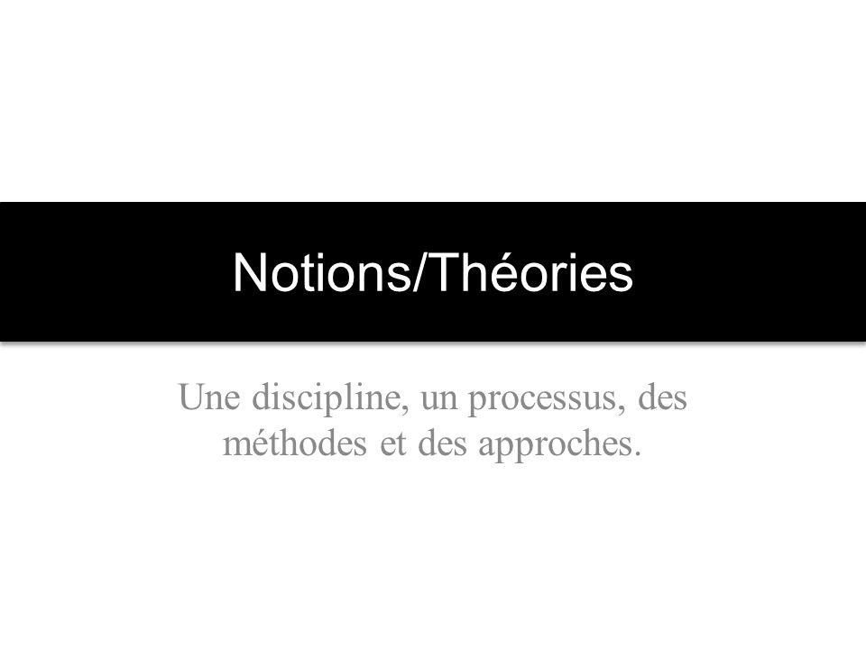 Une discipline, un processus, des méthodes et des approches.