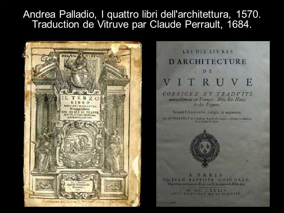 Andrea Palladio, I quattro libri dell architettura, 1570