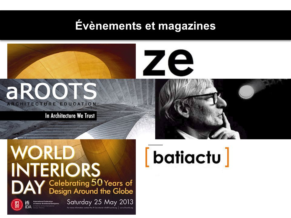 Évènements et magazines