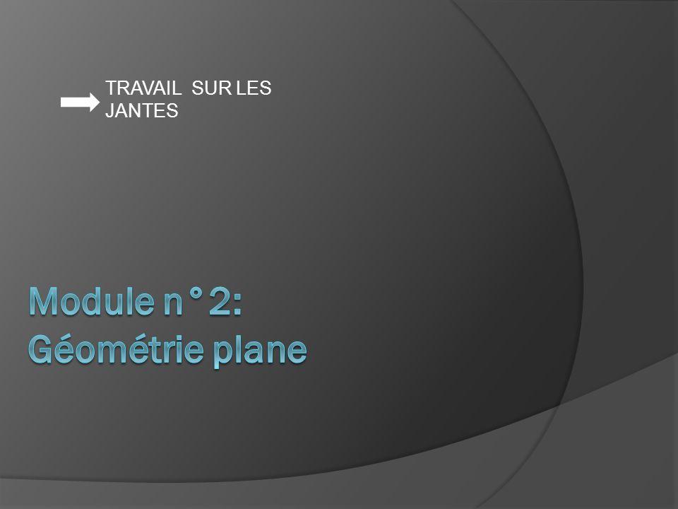 Module n°2: Géométrie plane