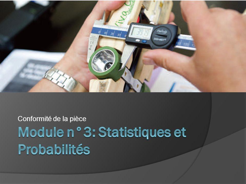Module n°3: Statistiques et Probabilités