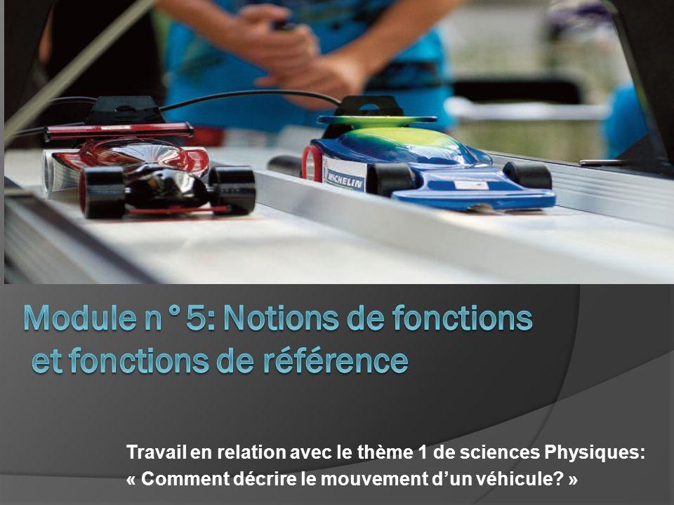 Module n°5: Notions de fonctions et fonctions de référence