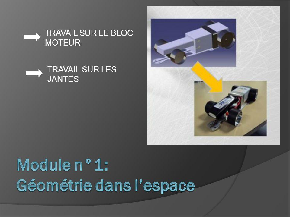 Module n°1: Géométrie dans l'espace