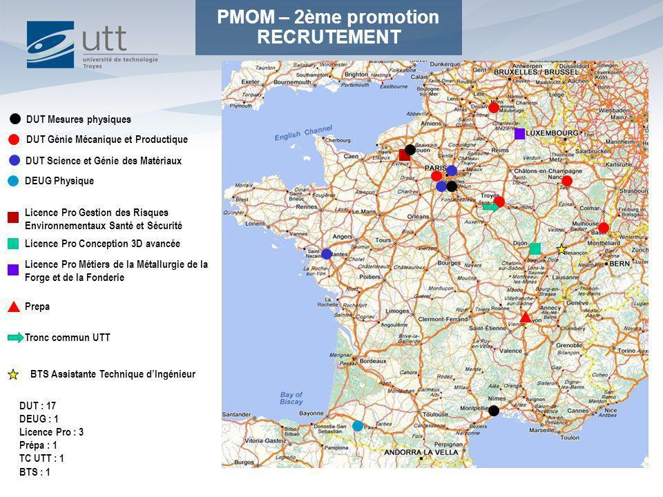 PMOM – 2ème promotion RECRUTEMENT