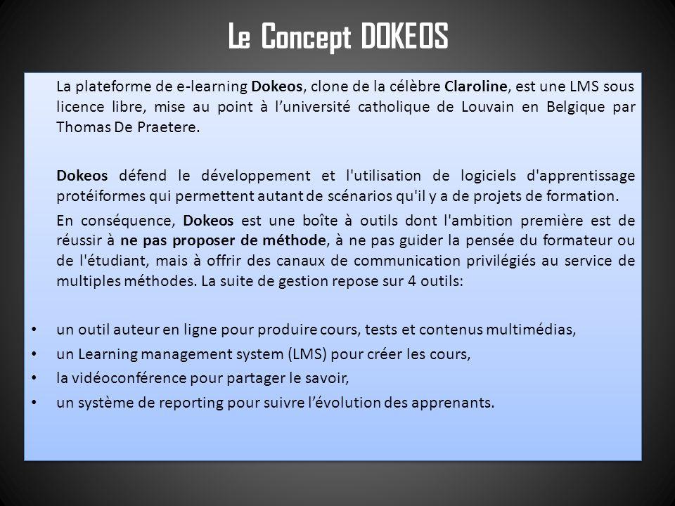 Le Concept DOKEOS