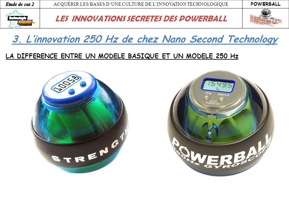 3. L'innovation 250 Hz de chez Nano Second Technology