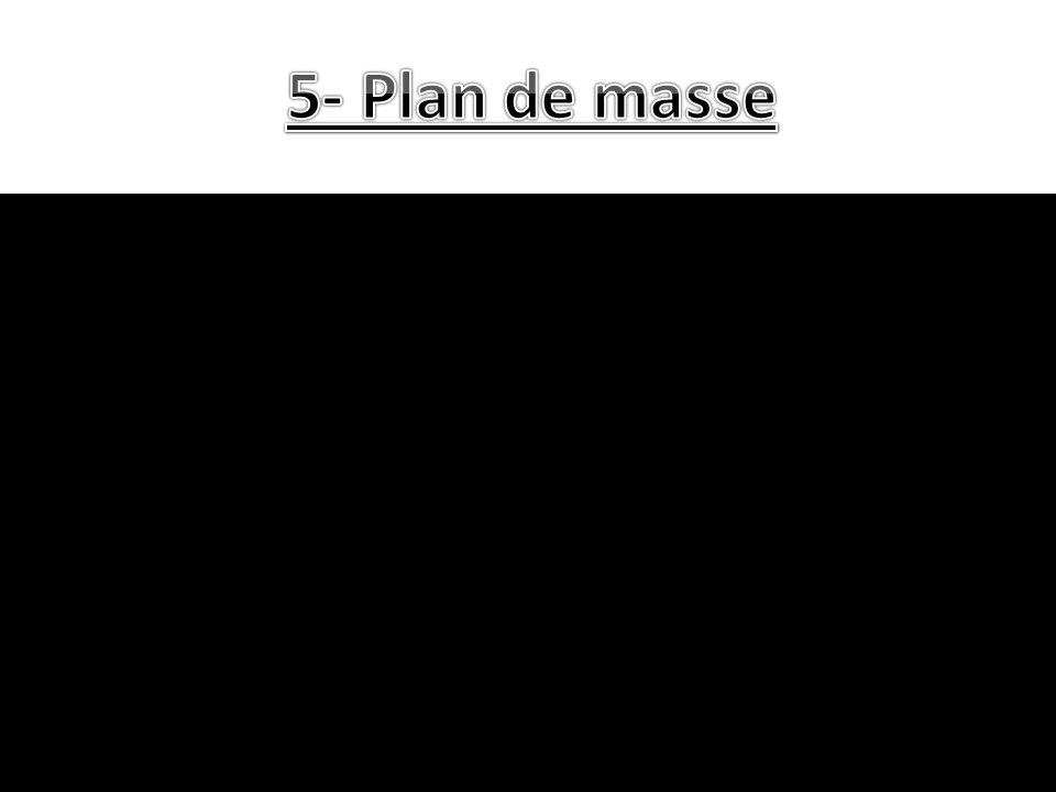 5- Plan de masse