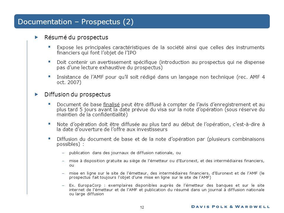 Documentation – Prospectus (2)