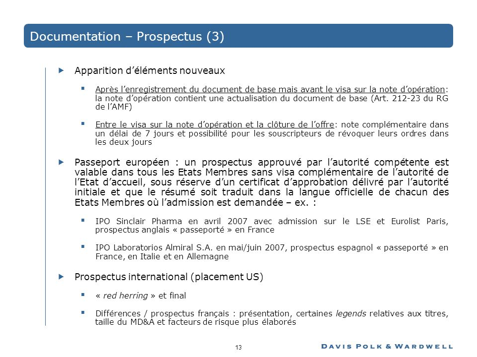 Documentation – Prospectus (3)