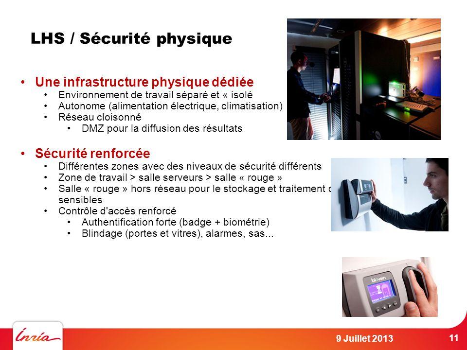 LHS / Sécurité physique