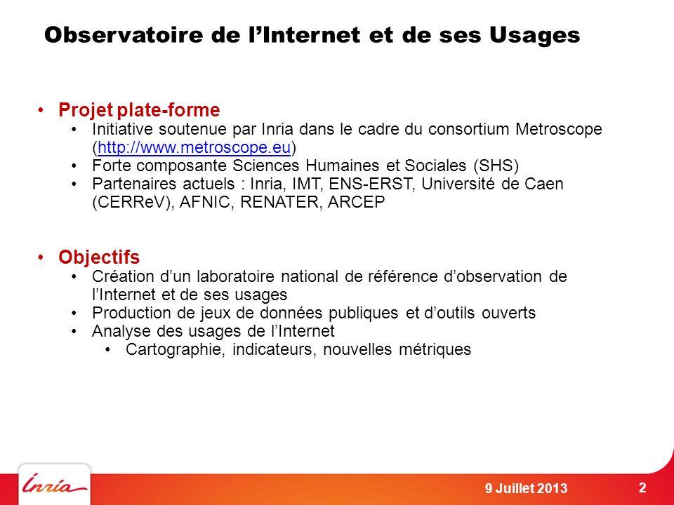 Observatoire de l'Internet et de ses Usages