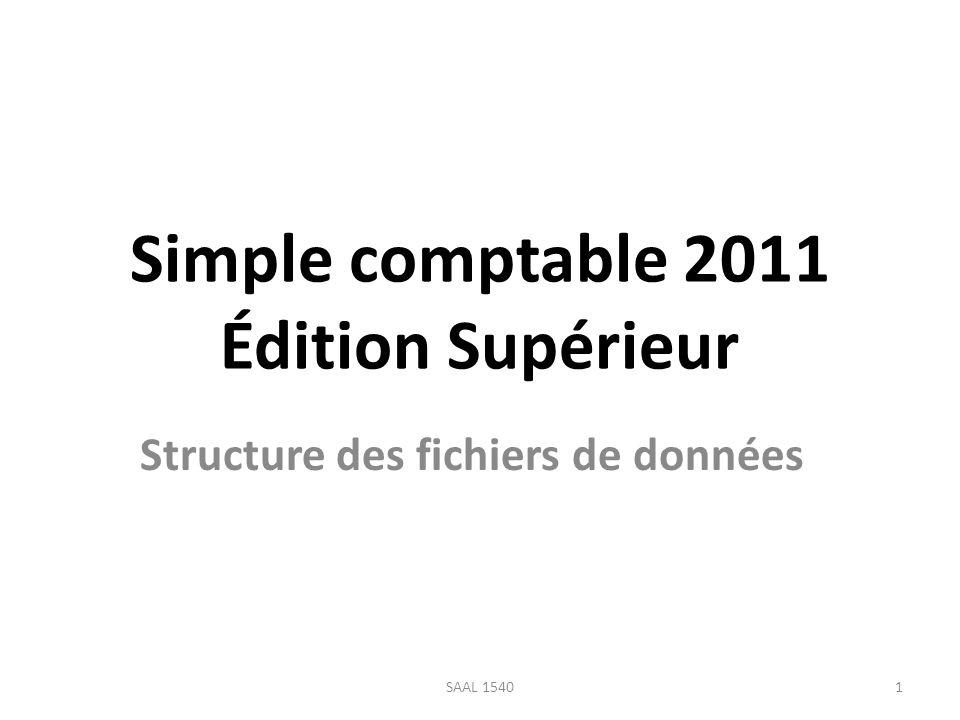 Simple comptable 2011 Édition Supérieur