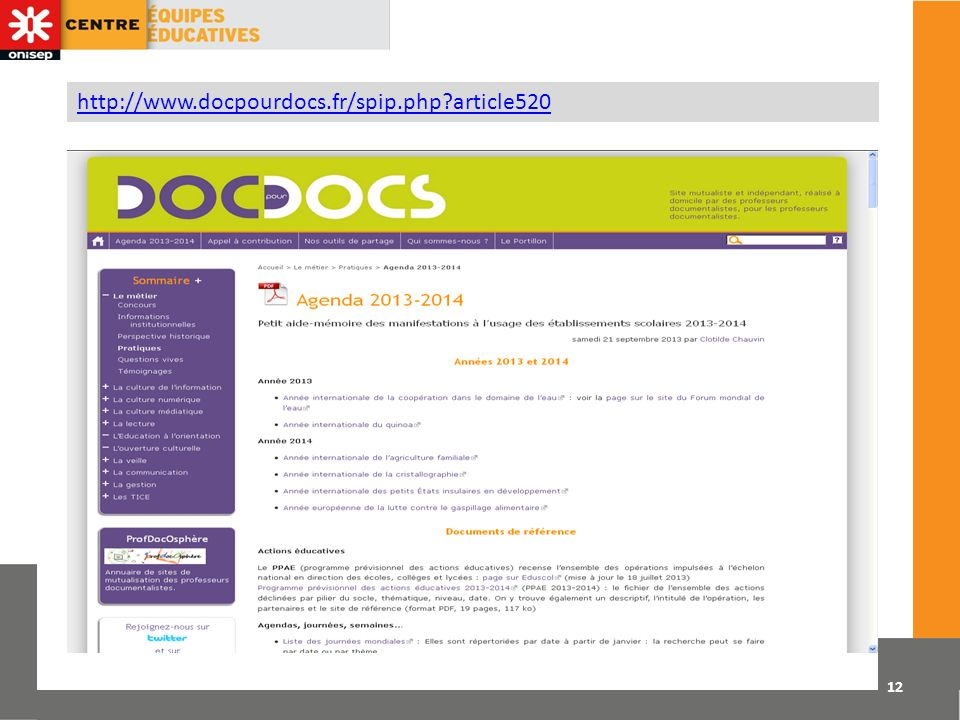 http://www.docpourdocs.fr/spip.php article520