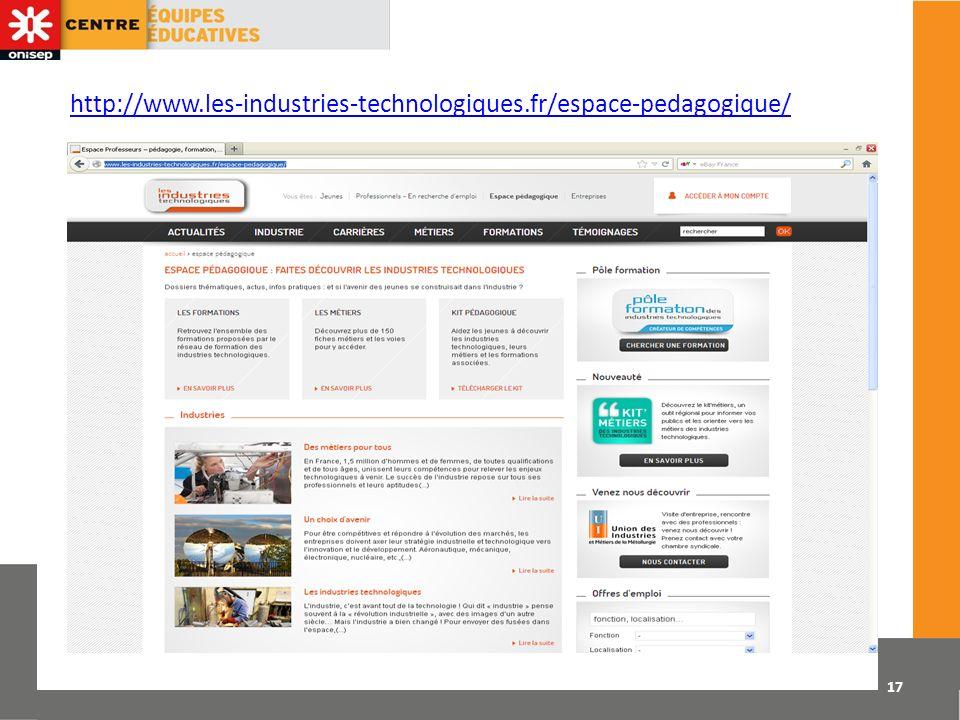 http://www.les-industries-technologiques.fr/espace-pedagogique/