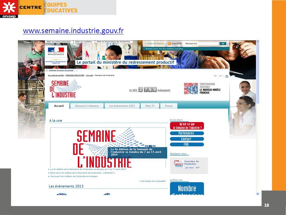 www.semaine.industrie.gouv.fr