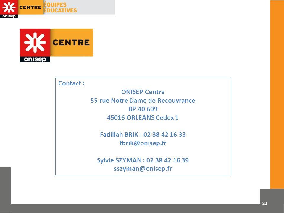 55 rue Notre Dame de Recouvrance