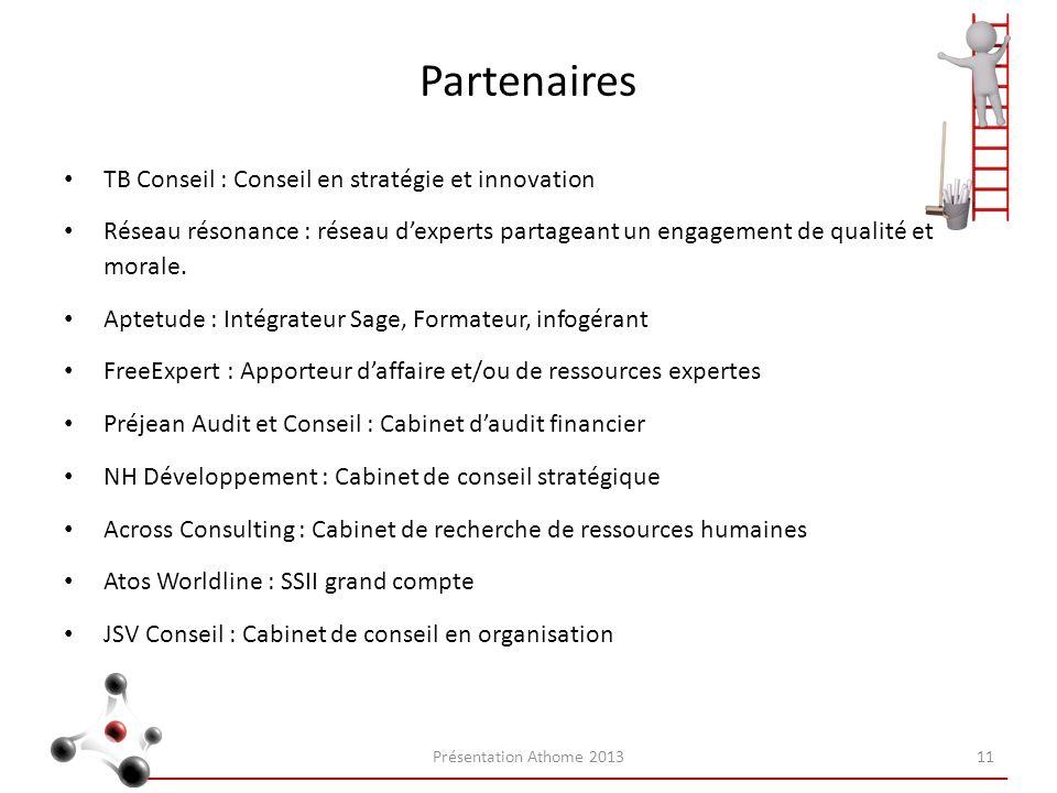 Partenaires TB Conseil : Conseil en stratégie et innovation