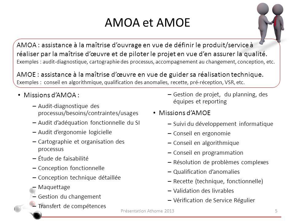 AMOA et AMOE