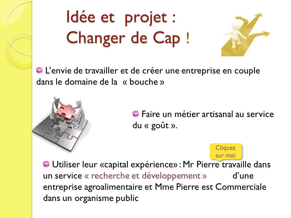 Idée et projet : Changer de Cap !
