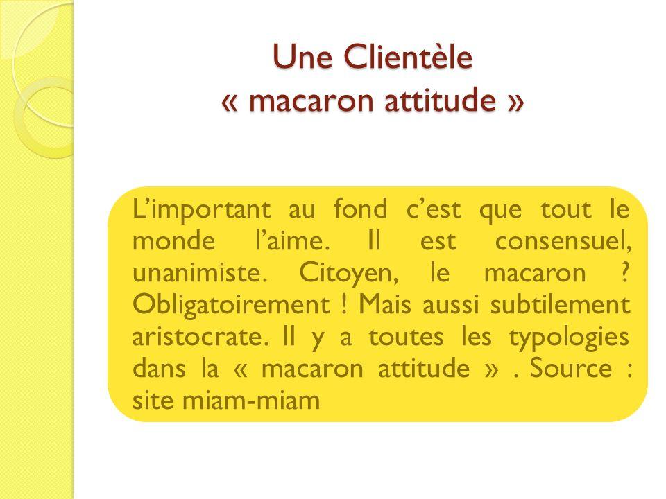 Une Clientèle « macaron attitude »