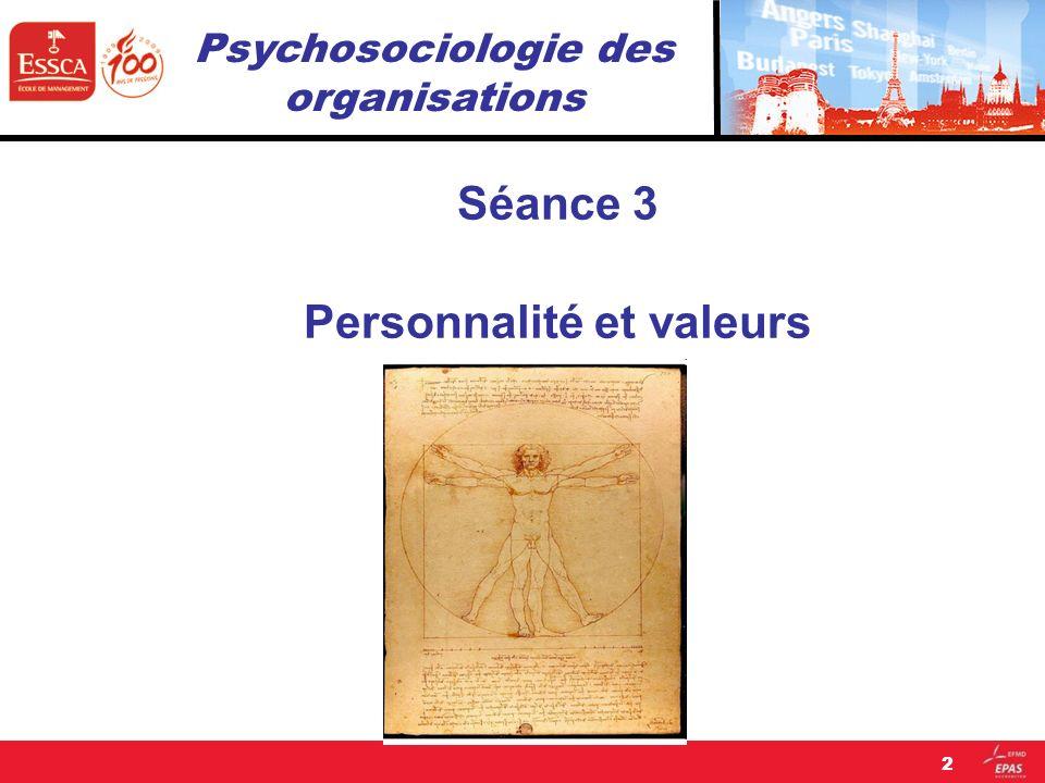 Psychosociologie des organisations
