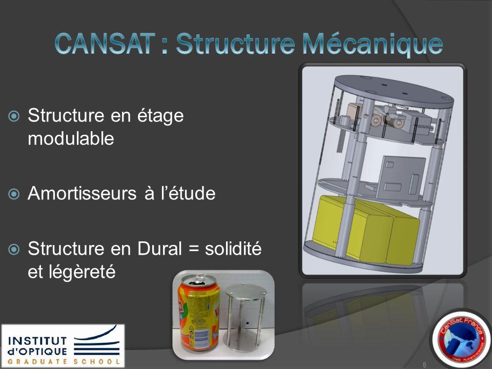 CANSAT : Structure Mécanique