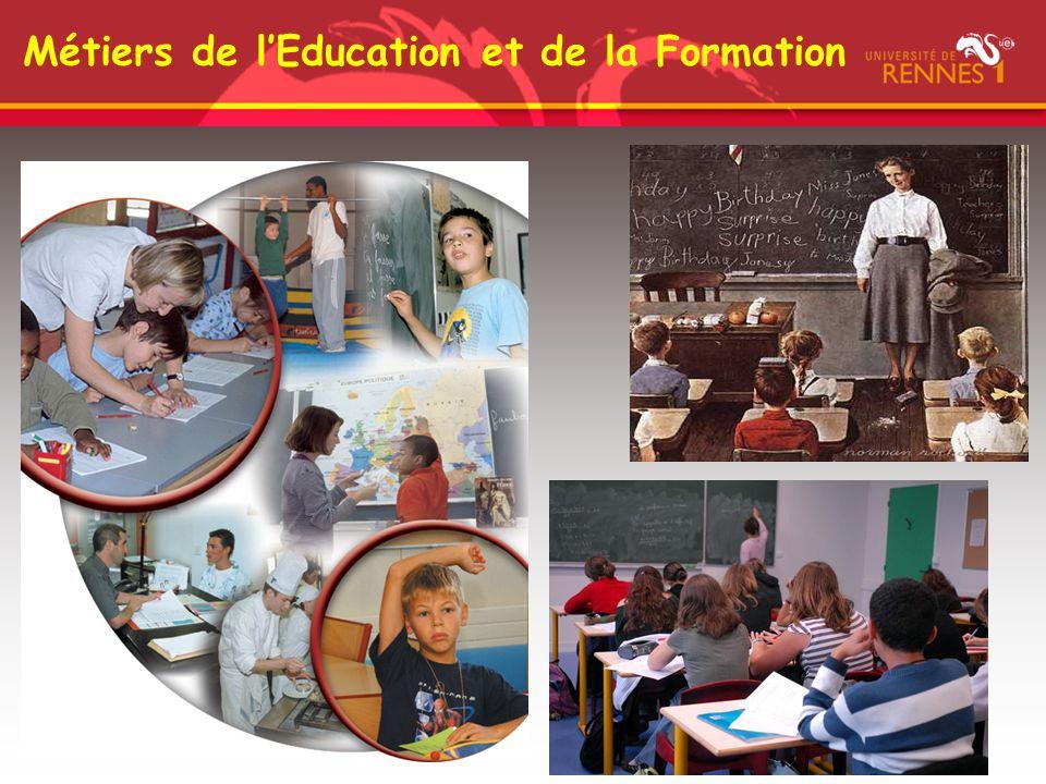 Métiers de l'Education et de la Formation