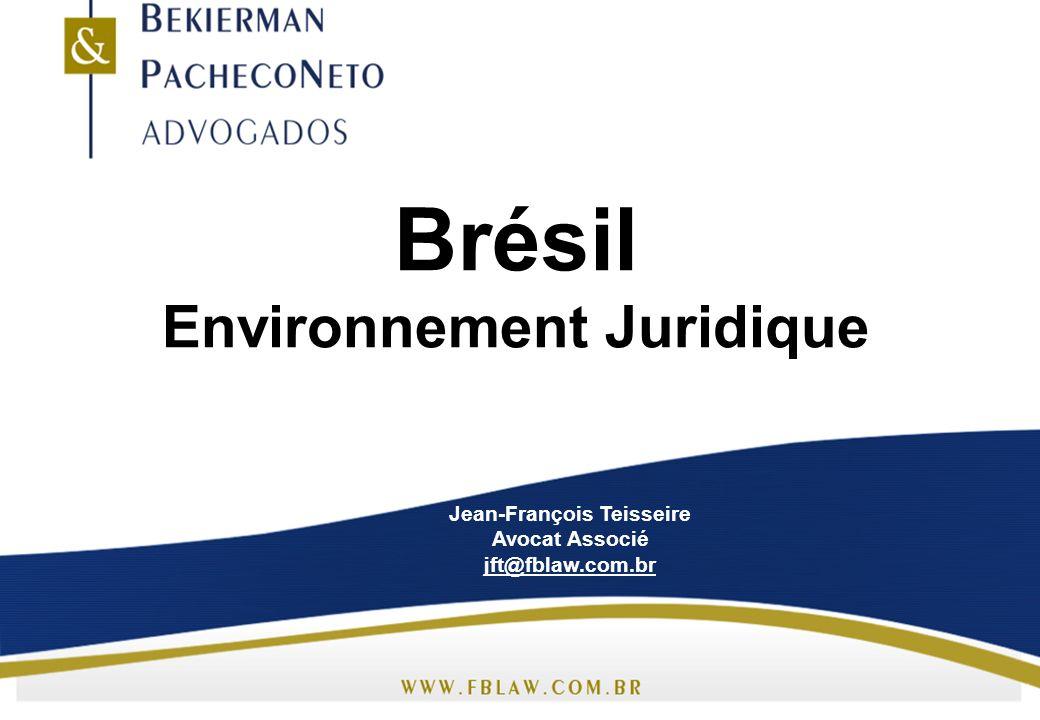 Brésil Environnement Juridique