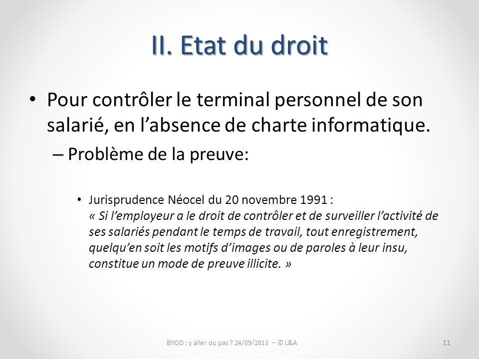 BYOD : y aller ou pas 24/09/2013 – © L&A