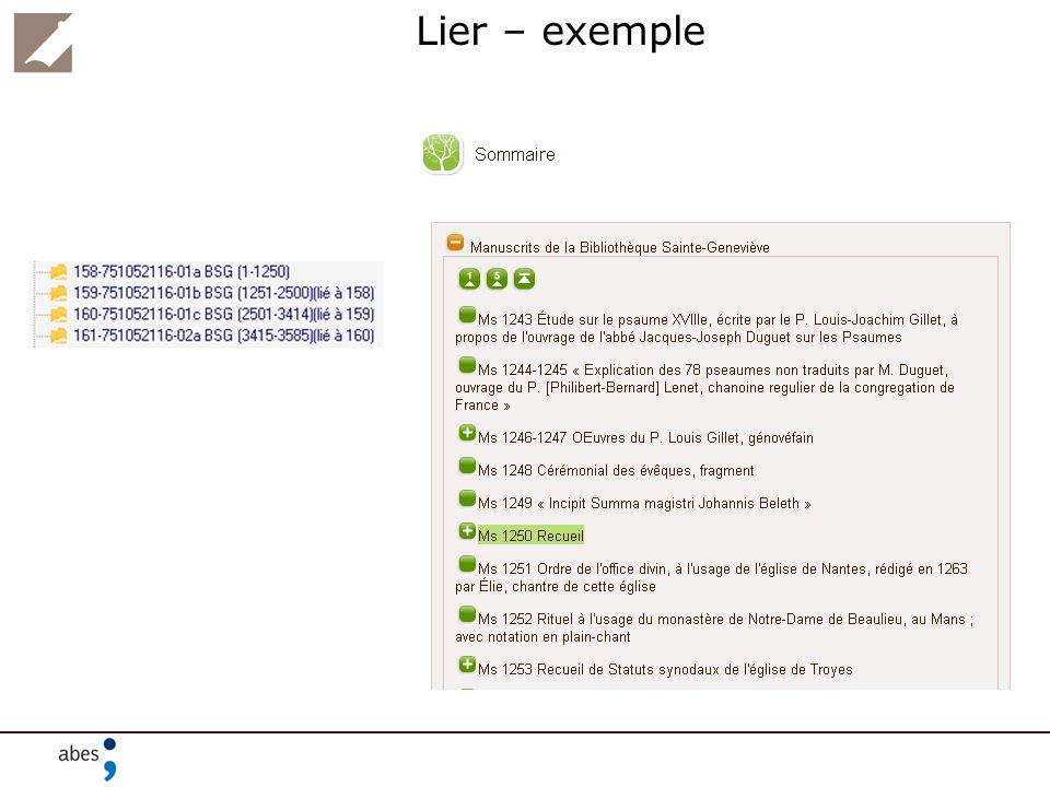 Lier – exemple