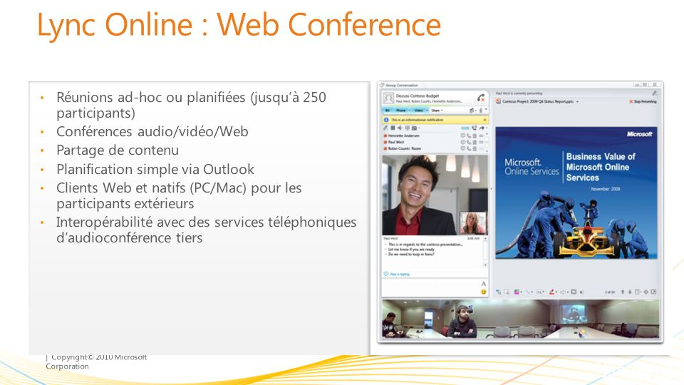 Lync Online : Web Conference