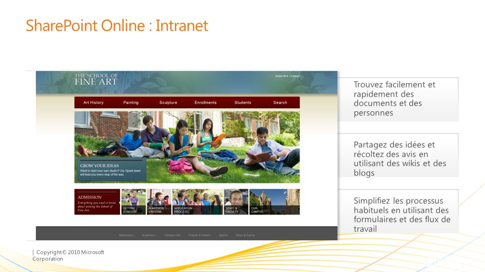 SharePoint Online : Intranet
