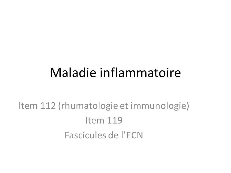 Maladie inflammatoire
