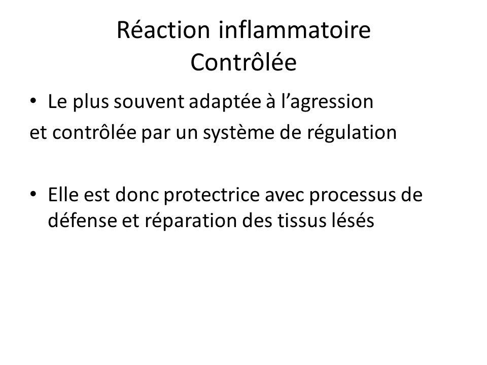 Réaction inflammatoire Contrôlée